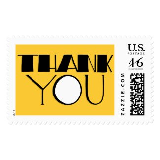 Big Thank You black Stamp stamp