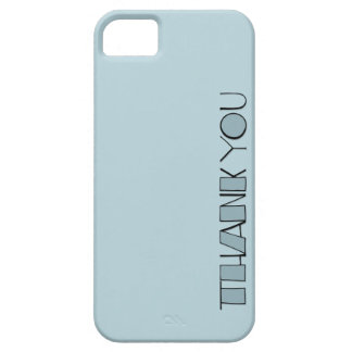 Big Thank You blue Case-Mate ID™ iPhone 5 iPhone 5 Covers