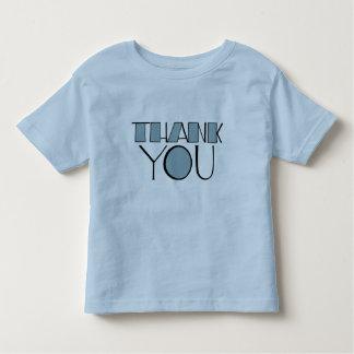 Big Thank You blue Kids T-shirt