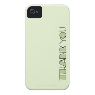 Big Thank You green Case-Mate ID™ iPhone 4/4S Case-Mate iPhone 4 Cases