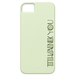 Big Thank You green Case-Mate ID™ iPhone 5 iPhone 5 Cases