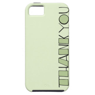 Big Thank You green iPhone 5 Case-Mate Tough™ iPhone 5 Cases