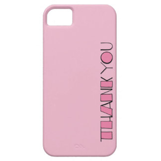 Big Thank You pink Case-Mate ID™ iPhone 5 iPhone 5 Case