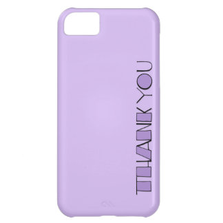 Big Thank You purple Case-Mate ID™ iPhone 5 iPhone 5C Covers