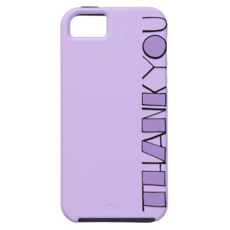 Big Thank You purple iPhone 5 Case-Mate Tough™ iPhone 5 Cases