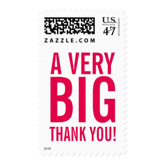 BIG THANK YOU stamps for weddings and more