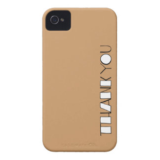 Big Thank You white Case-Mate ID™ iPhone 4/4S iPhone 4 Cover