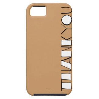 Big Thank You white iPhone 5 Case-Mate Tough™ iPhone 5 Covers