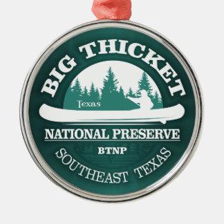 Big Thicket National Preserve Metal Ornament