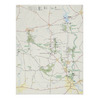 Big Thicket National Preserve Poster