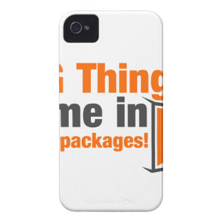 BIG Things Come In Small Packages Case-Mate iPhone 4 Cases