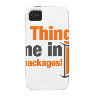 BIG Things Come In Small Packages iPhone 4 Cover