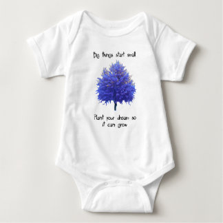 Big Things Start Small Baby Bodysuit