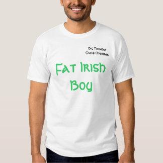 Big Thunder Staff Member, Fat Irish Boy T Shirt