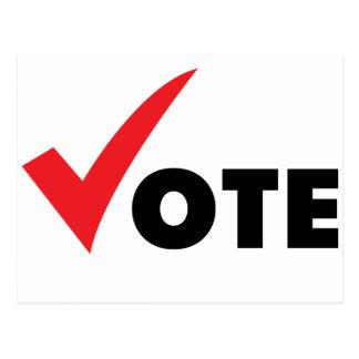 Big Tick Vote Postcard