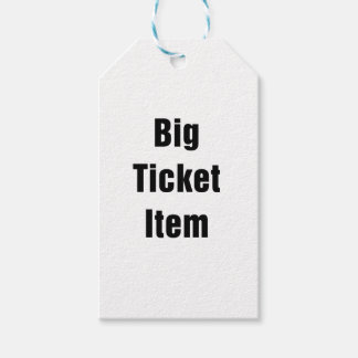 Big Ticket Item Pack Of Gift Tags