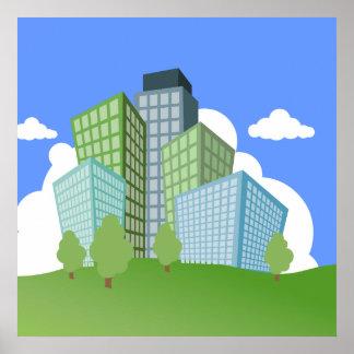 Big Time Corporation - Skyscraper Poster