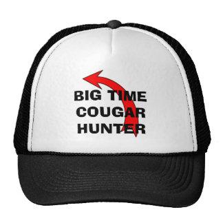 BIG TIME COUGAR HUNTER CAP TRUCKER HAT