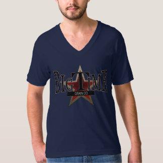 Big Time Grain Co. Men's V Neck T-Shirt