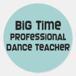 Big Time Professional Dance Teacher Stickers