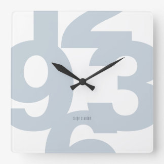 Big-Time Square Wall Clock