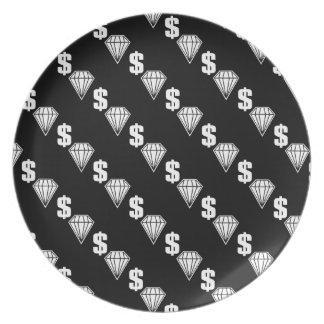 Big Timer Melamine Plate