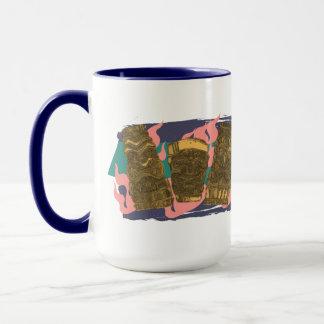 Big Tipsy Hawaiian Tiki Totem Low Brow Ceramic - Mug