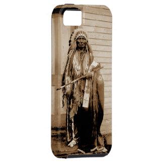 Big Tobacco a Dance Hall Chief circa 1900 iPhone 5 Cases