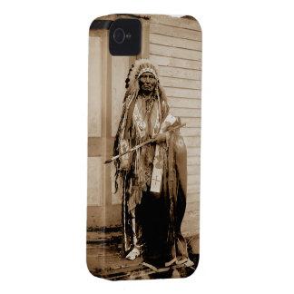 Big Tobacco a Dance Hall Chief circa 1900 iPhone 4 Cover