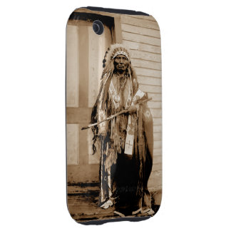 Big Tobacco a Dance Hall Chief circa 1900 iPhone 3 Tough Covers