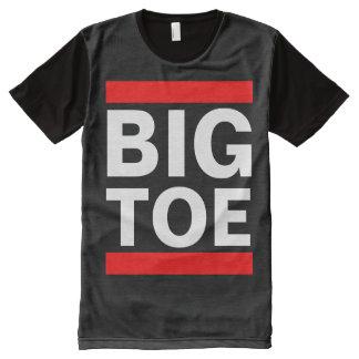 BIG TOE All-Over-Print SHIRT