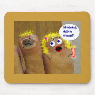 big toe mouse pad