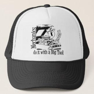Big Tool Funny Mechanic Trucker Hat