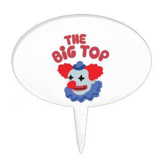 Big Top Clown Cake Topper