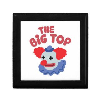 Big Top Clown Jewelry Box