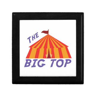 Big Top Jewelry Boxes
