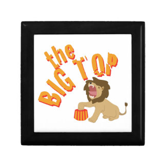 Big Top Lion Jewelry Boxes