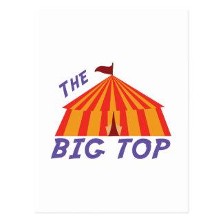 Big Top Postcard