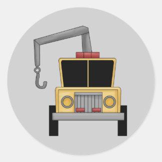 Big Tow Truck Fun Stickers