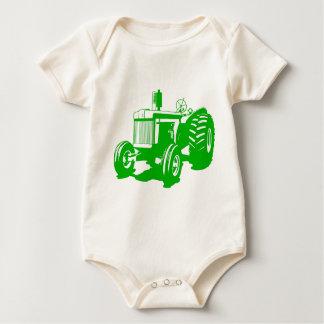 Big Tractor Baby Bodysuit
