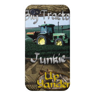 Big Tractor Junkie iPhone 4 Cases