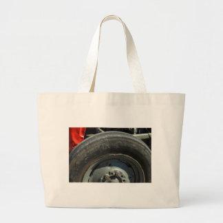 Big Tractor wheel Canvas Bags
