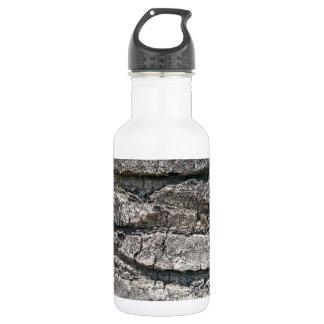 Big tree bark stainless steel water bottle