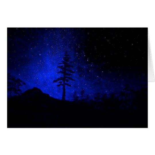 Big Tree Glow Mural Card