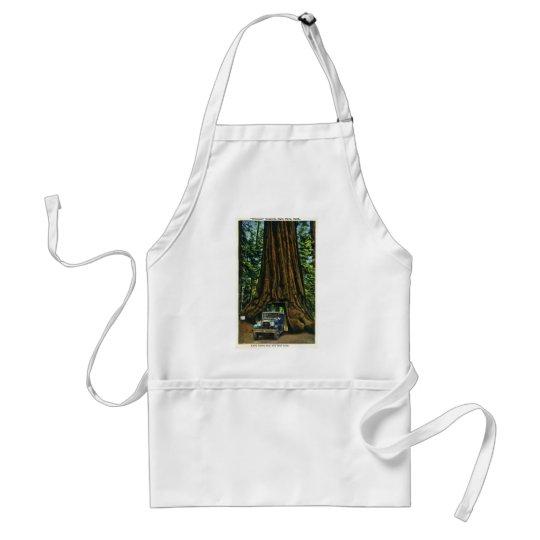 Big Tree Wawona, Mariposa Grove, CA Adult Apron