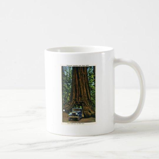 Big Tree Wawona, Mariposa Grove, CA Coffee Mug