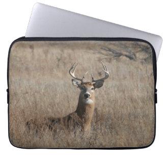 Big Trophy Buck Deer Camo 13 Inch Laptop Sleeve