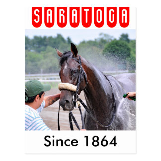 Big Trouble wins the 100th. Sanford Postcard