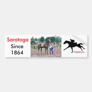 Big Trouble wins the 100th Sanford Stakes Bumper Sticker