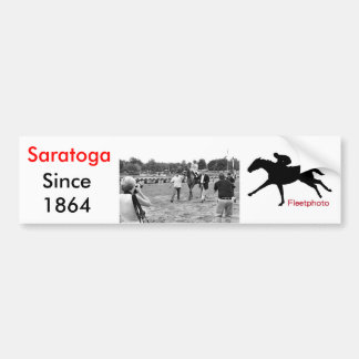 Big Trouble wins the 100th Sanford Stakes Bumper Sticker